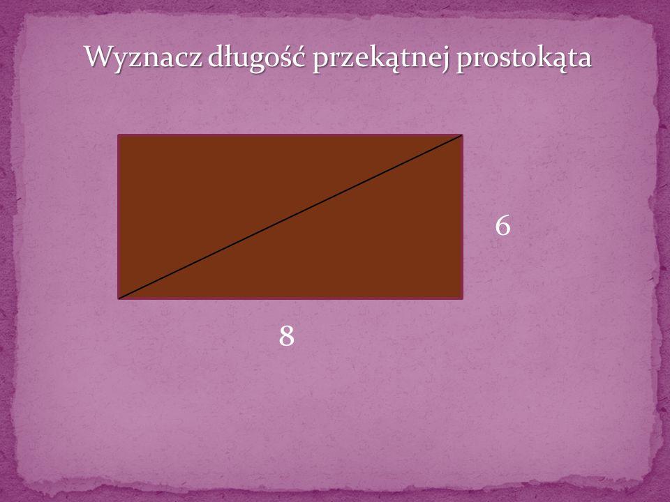 Który z trójkątów jest prostokątny? 13; 5; 12 4; 12; 13 1; 5; 2
