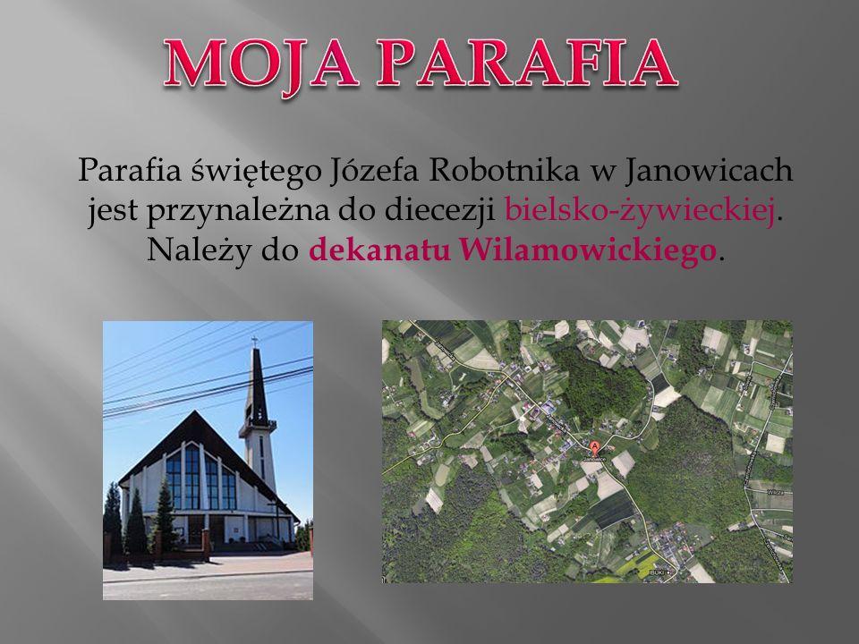 Parafia świętego Józefa Robotnika w Janowicach jest przynależna do diecezji bielsko-żywieckiej.
