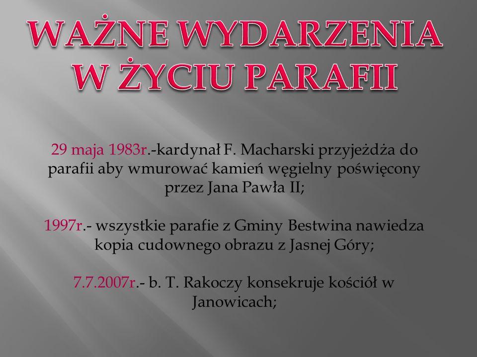 Odpusty odbywają się 1 maja oraz 26 sierpnia.