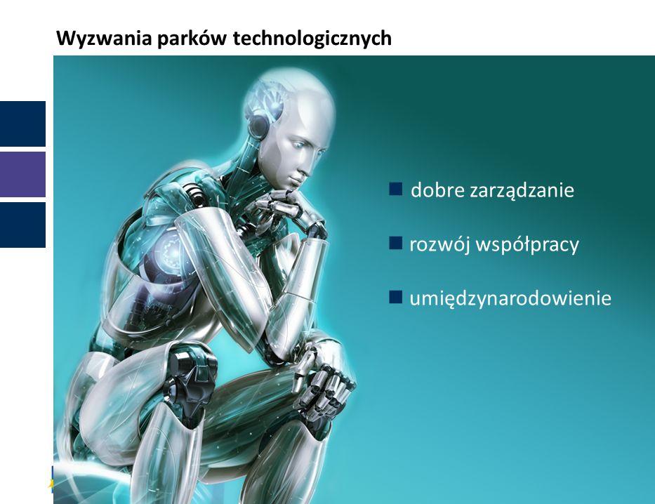 dobre zarządzanie rozwój współpracy umiędzynarodowienie Wyzwania parków technologicznych