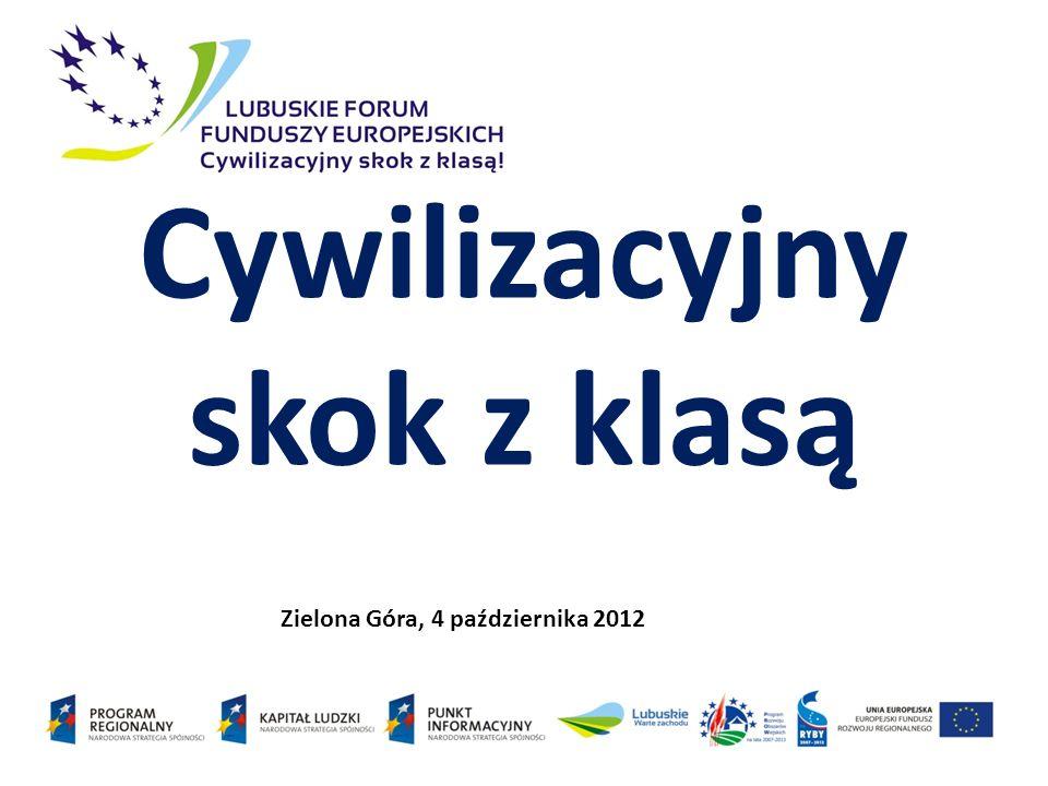 Cywilizacyjny skok z klasą Zielona Góra, 4 października 2012