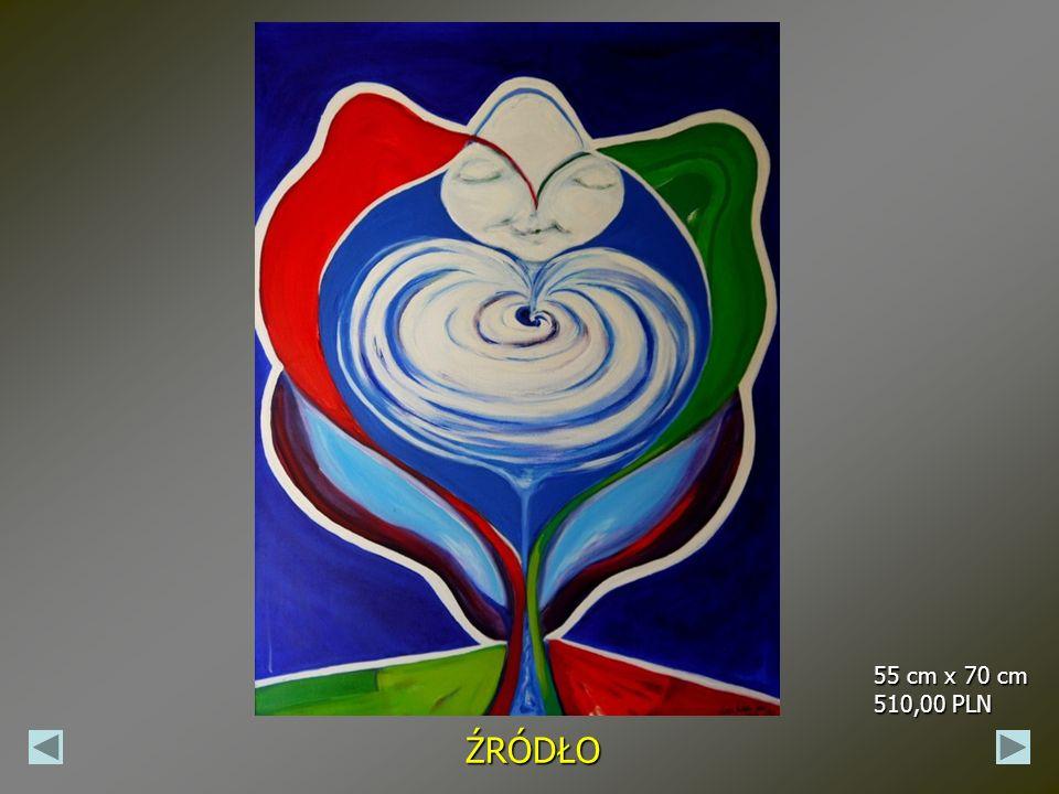 SPEŁNIENIE 50 cm x 50 cm 470,00 PLN