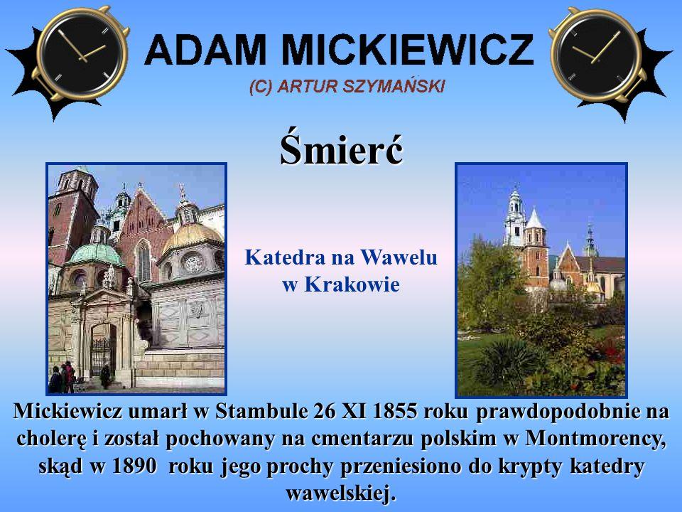 Pomniki Mickiewicza Pomnik Mickiewicza- Warszawa Pomnik Mickiewicza- Kraków Pomnik Mickiewicza- Lwów Pomnik Mickiewicza- Wilno