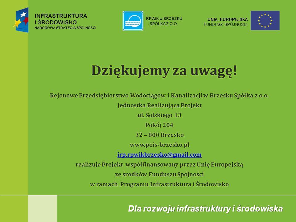 INFRASTRUKTURA I Ś RODOWISKO NARODOWA STRATEGIA SPÓJNO Ś CI UNIA EUROPEJSKA FUNDUSZ SPÓJNOŚCI Dla rozwoju infrastruktury i środowiskaDla rozwoju infra