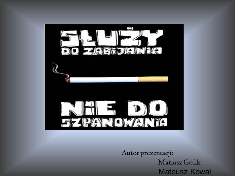 Autor prezentacji: Mariusz Golik Mateusz Kowal