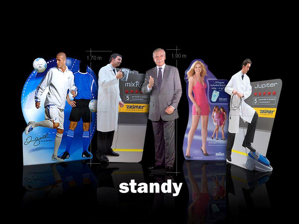 standy 1,90 m 1,70 m