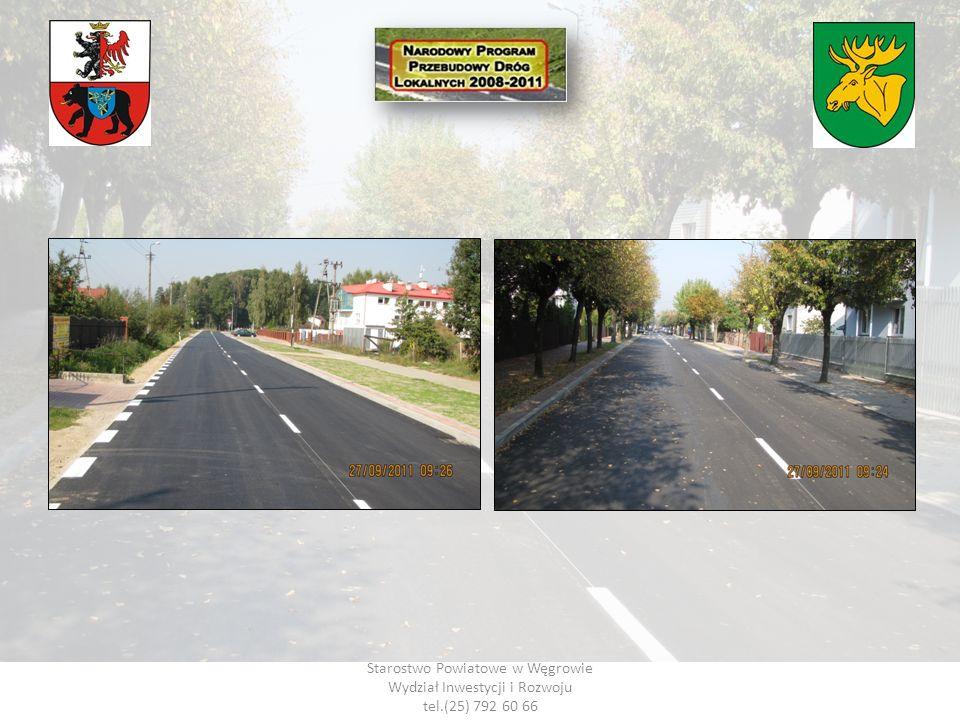 Starostwo Powiatowe w Węgrowie Wydział Inwestycji i Rozwoju tel.(25) 792 60 66