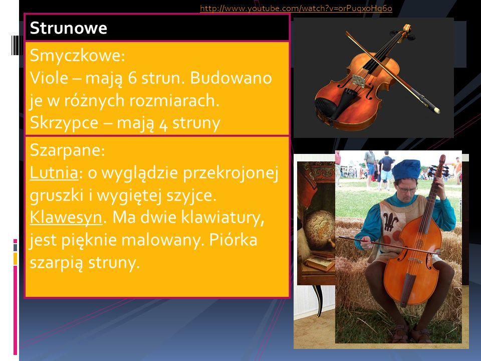 Dęte Drewniane: Flety proste Flety poprzeczne Szałamaje Blaszane: Trąbki Puzony http://www.youtube.com/watch?v=1Dxoe43TntU&feature=related http://www.youtube.com/watch?v=ULZoL1hSOSU&feature=related