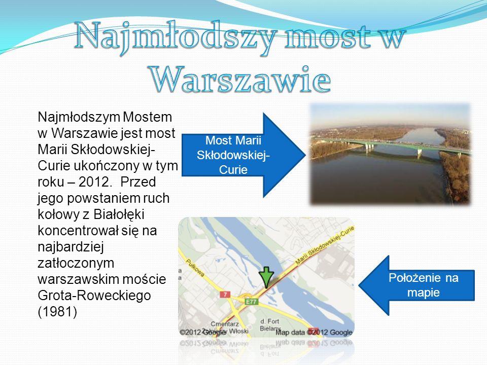 W Warszawie 24 września 2002 roku oddany został do ruchu najdłuższy most w Polsce i Warszawie most Siekierkowski.