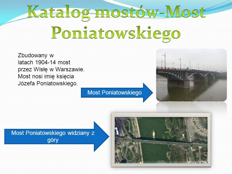 Most w Warszawie na Wiśle otwarty 22 lipca 1974 razem z Trasą Łazienkowską.