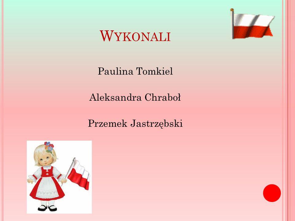 W YKONALI Paulina Tomkiel Aleksandra Chraboł Przemek Jastrzębski