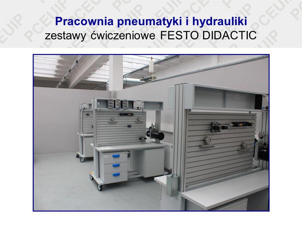 Pracownia pneumatyki i hydrauliki zestawy ćwiczeniowe FESTO DIDACTIC