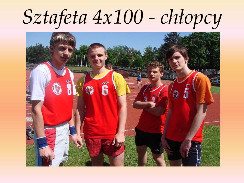 Sztafeta 4x100 - chłopcy