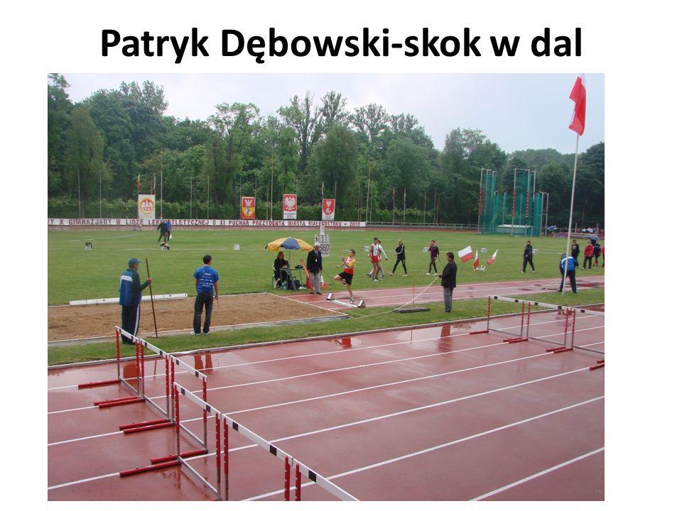Patryk Dębowski-skok w dal