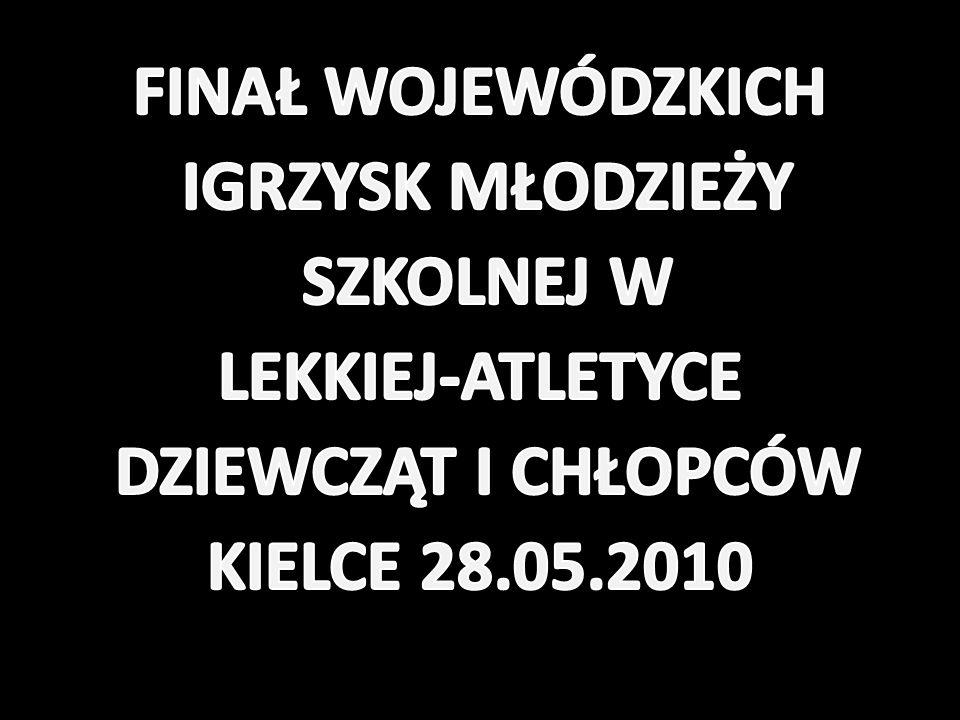 WYNIKI-CHŁOPCY Lp.Imię i nazwiskoRok urodzeniaKonkurencjaWynikPkt.