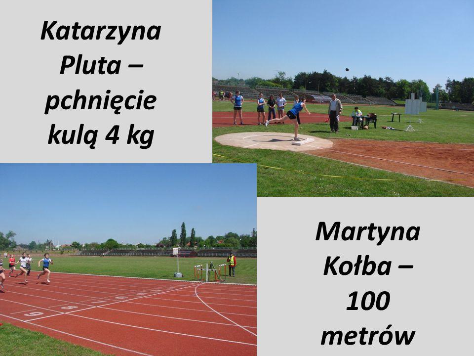 CHŁOPCÓW: - 100 m 11,29 2004 Paweł Stachowiak 88 GS 2 Lubin - 300 m 34,59 2010 Rafał Smoleń 94 GMS Racibórz - 1000 m 2;28,39 2006 Dominik Reszka 90 G 7 Grudziądz - 110 m pł.