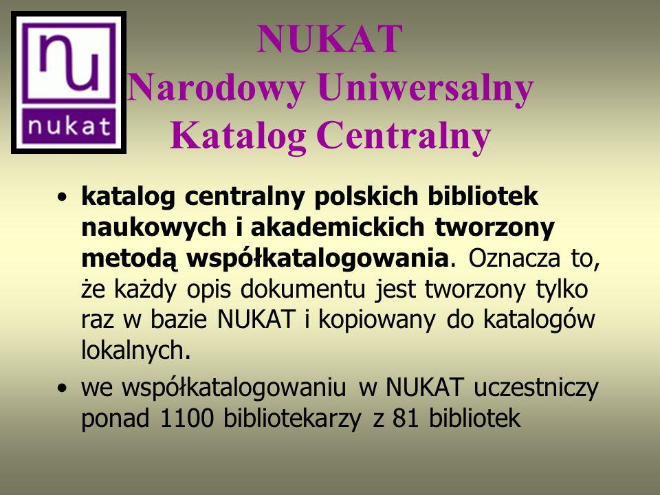 W KaRo nie ma wielu ważnych bibliotek. Wynika to z jednego z następujących powodów: albo system biblioteczny nie obsługuje protokołu Z39.50, albo bibl