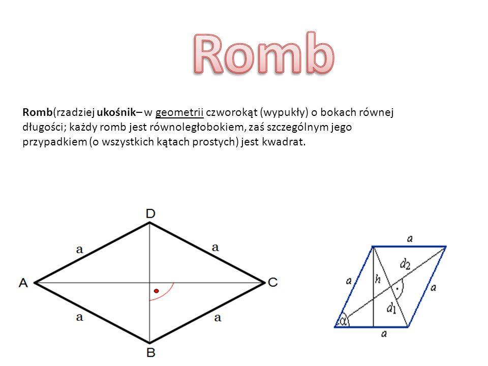 Prostokąt to figura geometryczna, która ma cztery boki, cztery wierzchołki i dwie pary równoległych boków o równej długości, np. 2 mają po 3cm, a 2 ma
