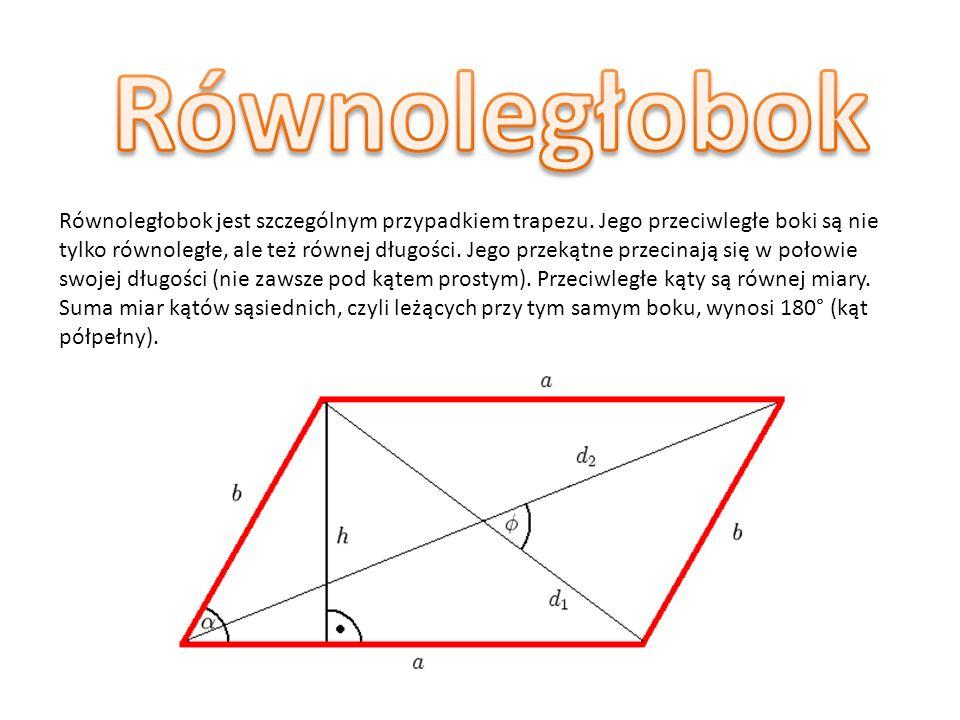 Romb(rzadziej ukośnik– w geometrii czworokąt (wypukły) o bokach równej długości; każdy romb jest równoległobokiem, zaś szczególnym jego przypadkiem (o