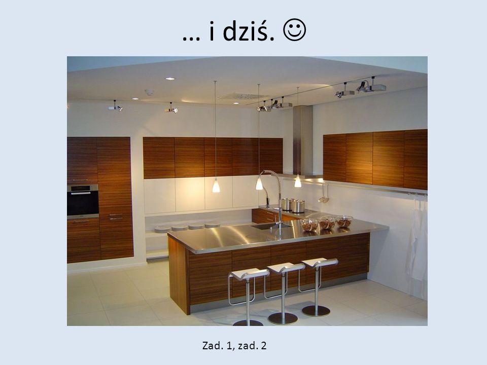 Temat 4: Energia elektryczna w kuchni i w domu.