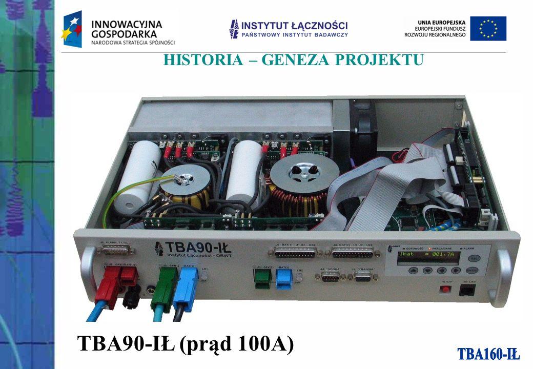 TBA90-IŁ (prąd 100A) HISTORIA – GENEZA PROJEKTU
