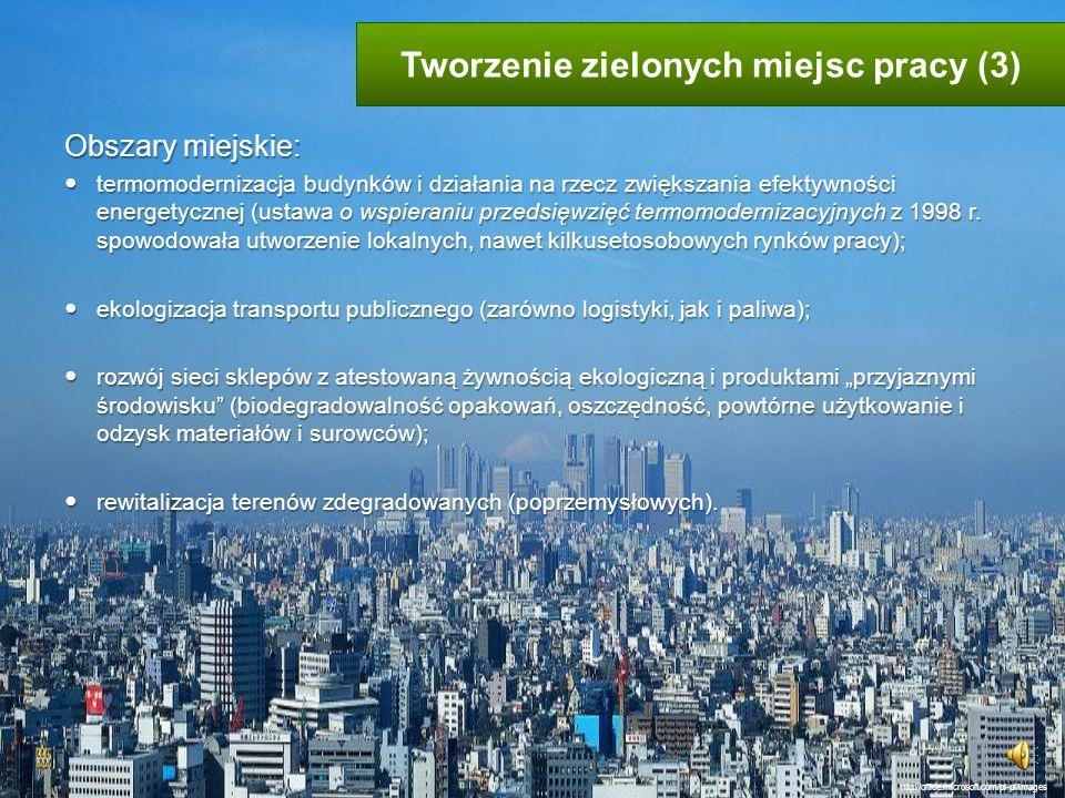 Obszary wiejsko-miejskie: prace przy rozwoju infrastruktury ochrony środowiska (oczyszczalnie ścieków, w tym biologiczne, kanalizacja, instalacje proe