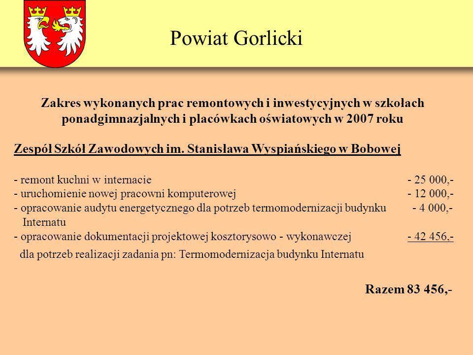 Powiat Gorlicki Zespół Szkół Zawodowych im.