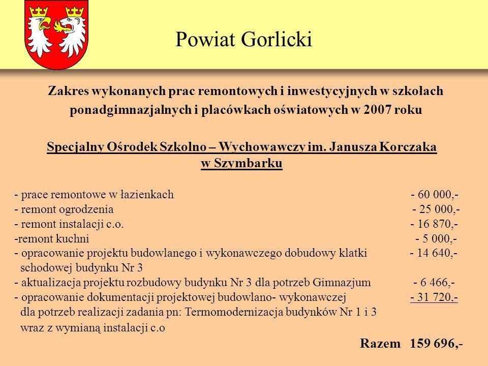 Powiat Gorlicki Specjalny Ośrodek Szkolno – Wychowawczy im.