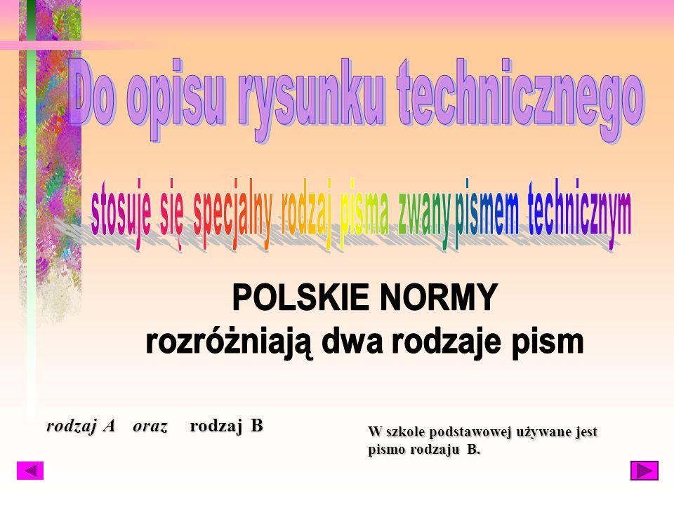 POLSKICH NORMACH PN- 70/M-01143 i PN- 82/N- 016114 Polskie normy opracowuje: Polski Komitet Normalizacyjny (w skrócie PKN )