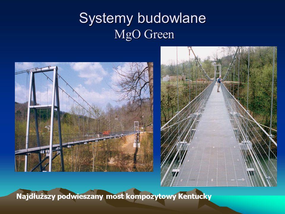 - Najdłuższy podwieszany most kompozytowy Kentucky