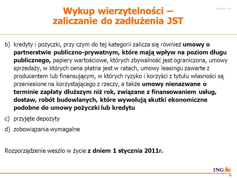 Do not put content in the Brand Signature area 24/02/2014 10:59 17 Rozporządzenie Ministra Finansów z dnia 23 grudnia 2010r.