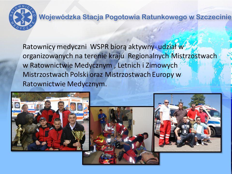 Ratownicy medyczni WSPR biorą aktywny udział w organizowanych na terenie kraju Regionalnych Mistrzostwach w Ratownictwie Medycznym, Letnich i Zimowych