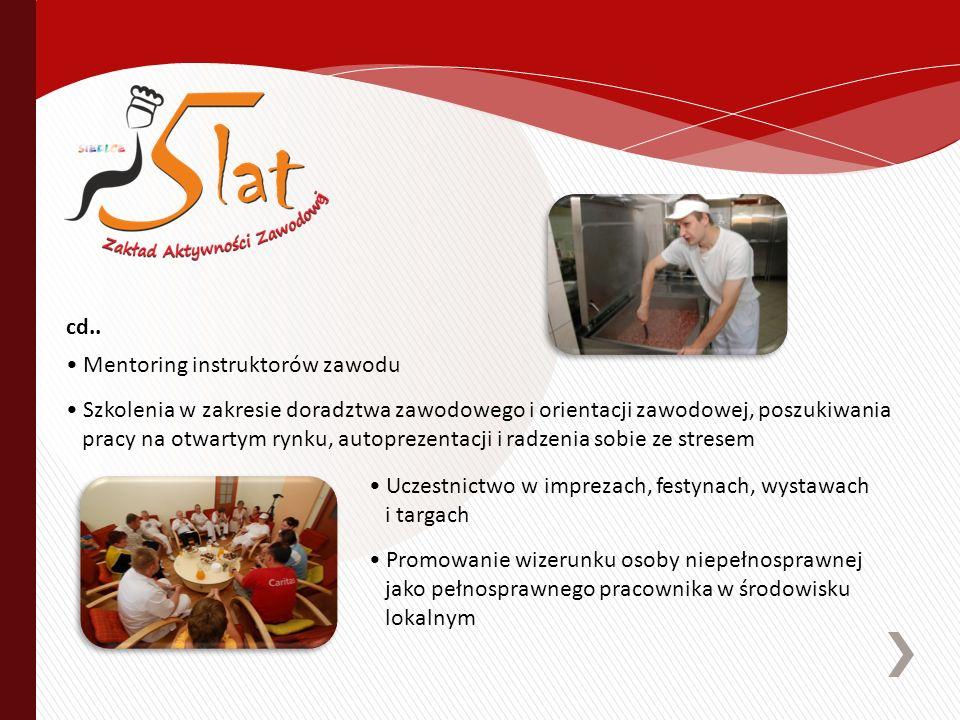 Uczestnictwo w imprezach, festynach, wystawach i targach Promowanie wizerunku osoby niepełnosprawnej jako pełnosprawnego pracownika w środowisku lokal