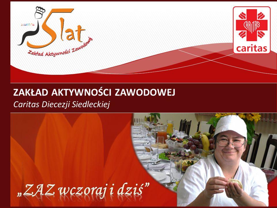 W grudniu 2010 roku ZAZ zwiększył zatrudnienie z 26 do 35 osób niepełnosprawnych oraz z 11 do 14 osób kadry obsługowo – rehabilitacyjnej.