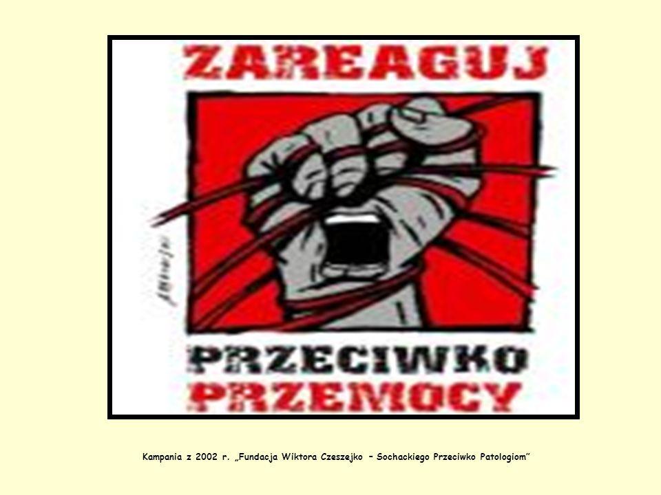 Kampania z 2002 r. Fundacja Wiktora Czeszejko – Sochackiego Przeciwko Patologiom