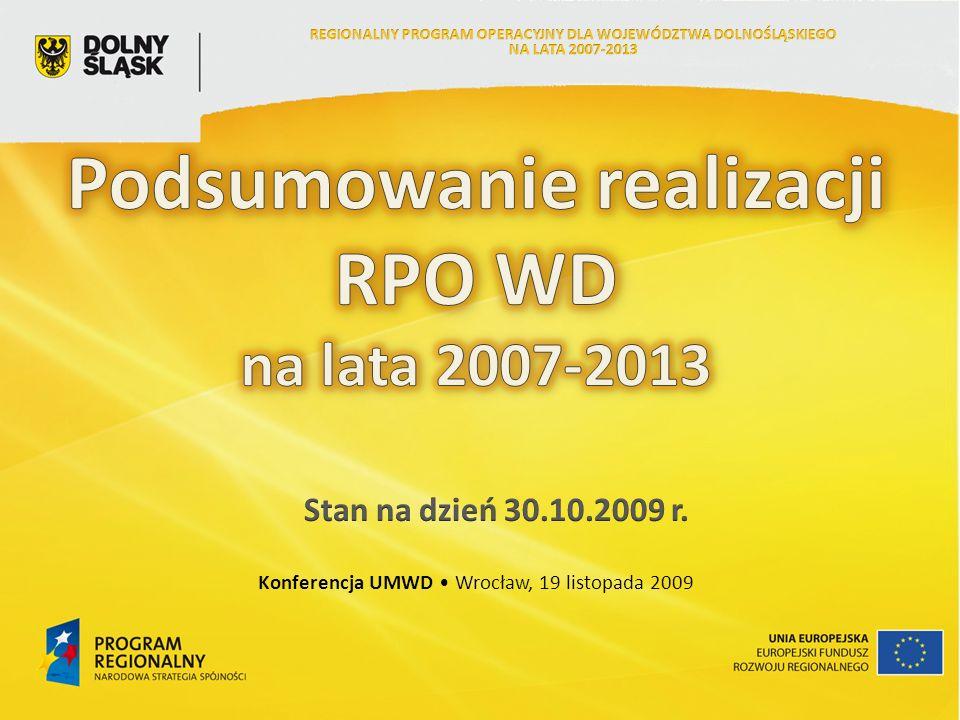 Konferencja UMWD Wrocław, 19 listopada 2009