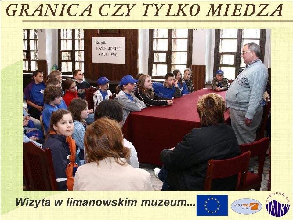 Wizyta w limanowskim muzeum...