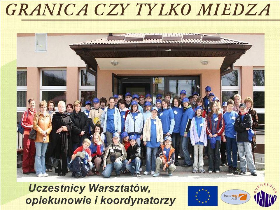 Uczestnicy Warsztatów, opiekunowie i koordynatorzy