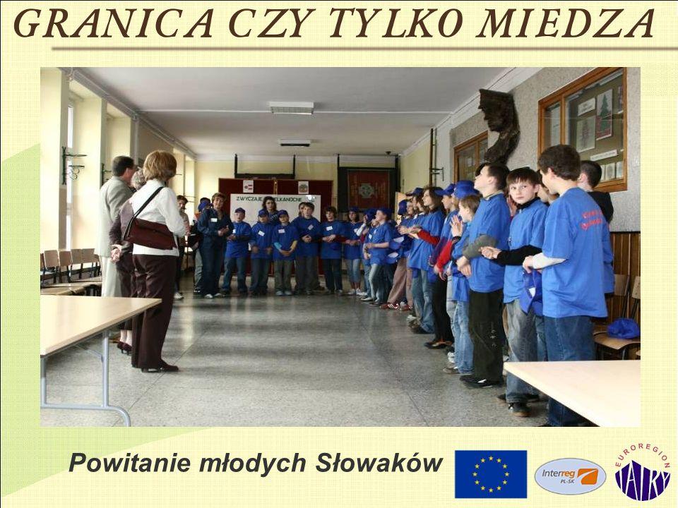 Powitanie młodych Słowaków