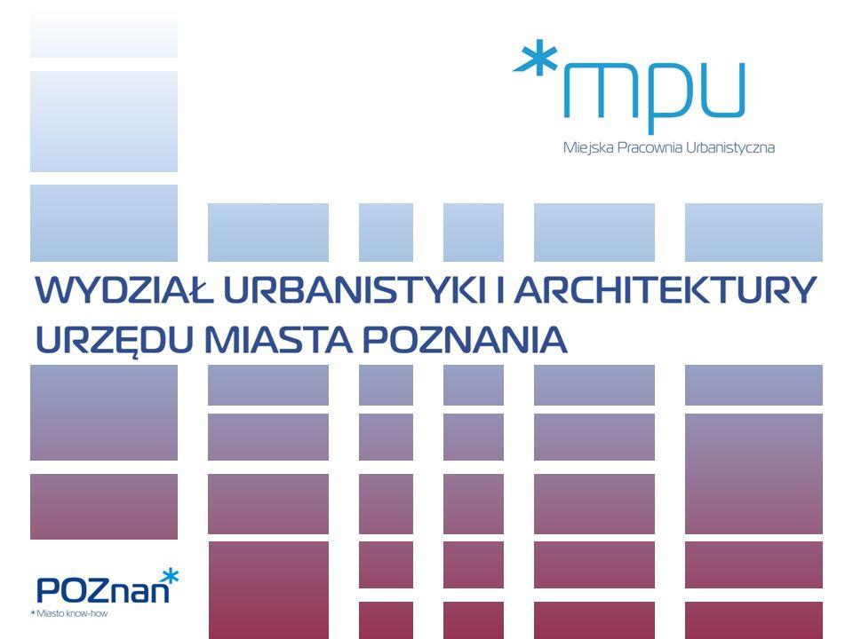 W zakresie zagospodarowania przestrzennego: wydawanie decyzji o warunkach zabudowy i decyzji o ustaleniu lokalizacji celu publicznego, udzielanie informacji urbanistycznej o przeznaczeniu terenów w mpzp., sprawowanie nadzoru nad plastycznymi przekształceniami miasta, współpraca z MPU, prowadzenie prognoz i przeprowadzanie analiz urbanistycznych, wydawanie opinii o zgodności projektów podziału nieruchomości z miejscowym planem; WYDZIAŁ URBANISTYKI I ARCHITEKTURY URZĘDU MIASTA POZNANIU (WUiA) Jest jednostką organizacyjną Urzędu Miasta Poznania KOMPETENCJE I ZADANIA: W zakresie administracji architektoniczno - budowlanej: wydawanie pozwoleń na budowę / rozbiórkę i zatwierdzanie projektów budowlanych, wyrażanie zgody na zmianę sposobu użytkowania obiektu budowlanego, wydawanie decyzji zatwierdzającej istotne odstąpienie od zatwierdzonego projektu budowlanego lub innych warunków pozwolenia na budowę, przeniesienie decyzji o pozwoleniu na budowę na rzecz innej osoby, przyjmowanie zgłoszeń zamiaru budowy lub wykonania określonych robót budowlanych.