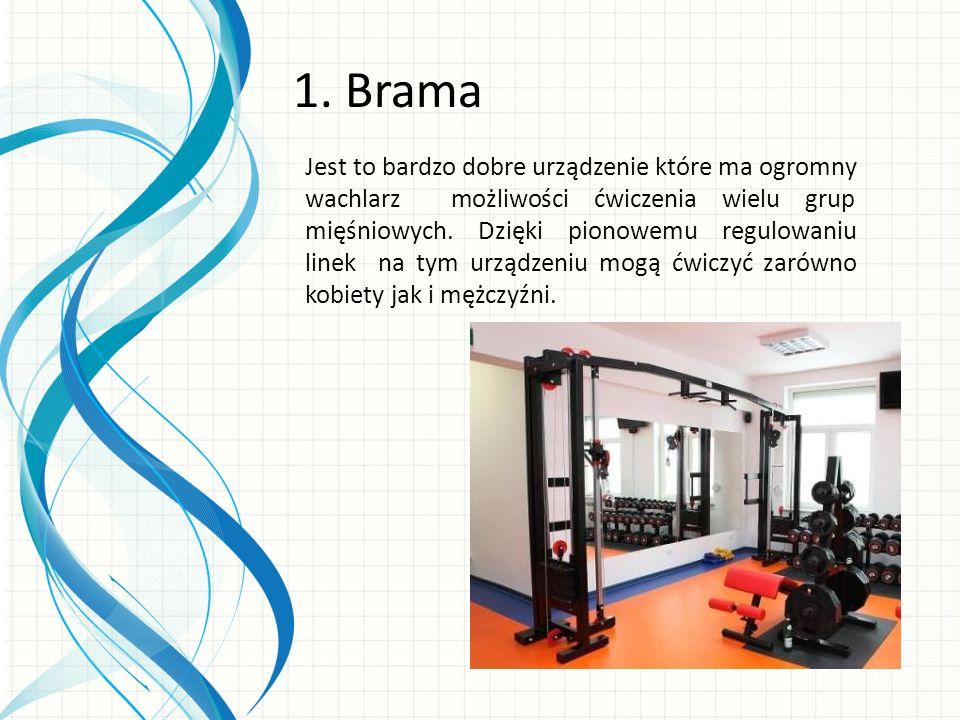 Jest to bardzo dobre urządzenie które ma ogromny wachlarz możliwości ćwiczenia wielu grup mięśniowych.