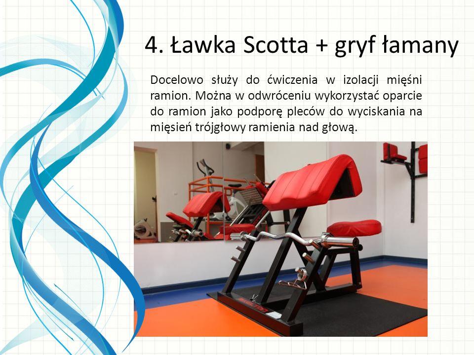 Docelowo służy do ćwiczenia w izolacji mięśni ramion.
