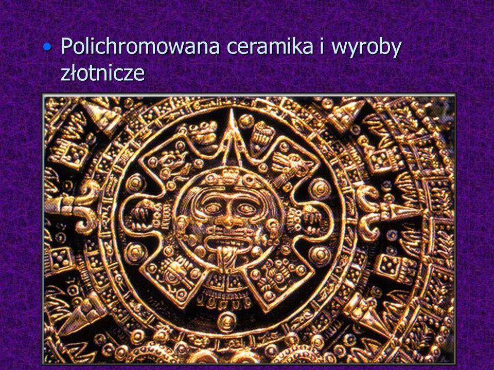 Polichromowana ceramika i wyroby złotniczePolichromowana ceramika i wyroby złotnicze
