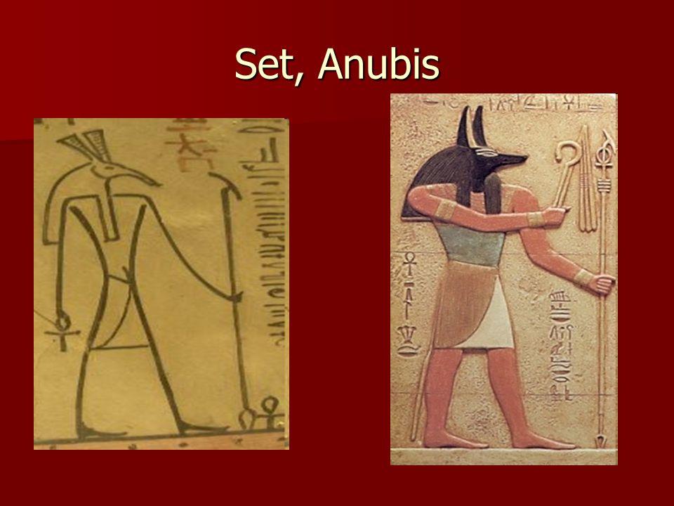 Set, Anubis