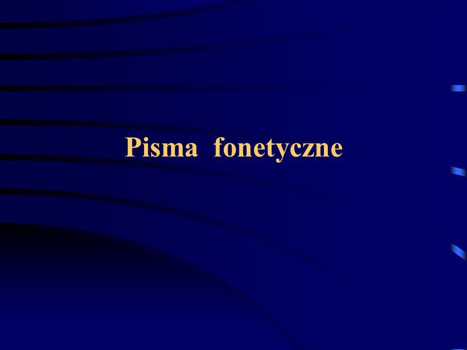 Pisma fonetyczne