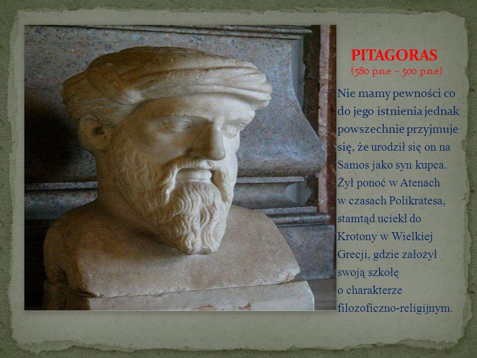 Pitagoras przekazywał swe nauki w postaci maksym, z których część jest dziś dla nas zupełnie niezrozumiała, ze względu na nieznajomość kontekstu kulturowego, a część zachowuje swą aktualność do dziś.
