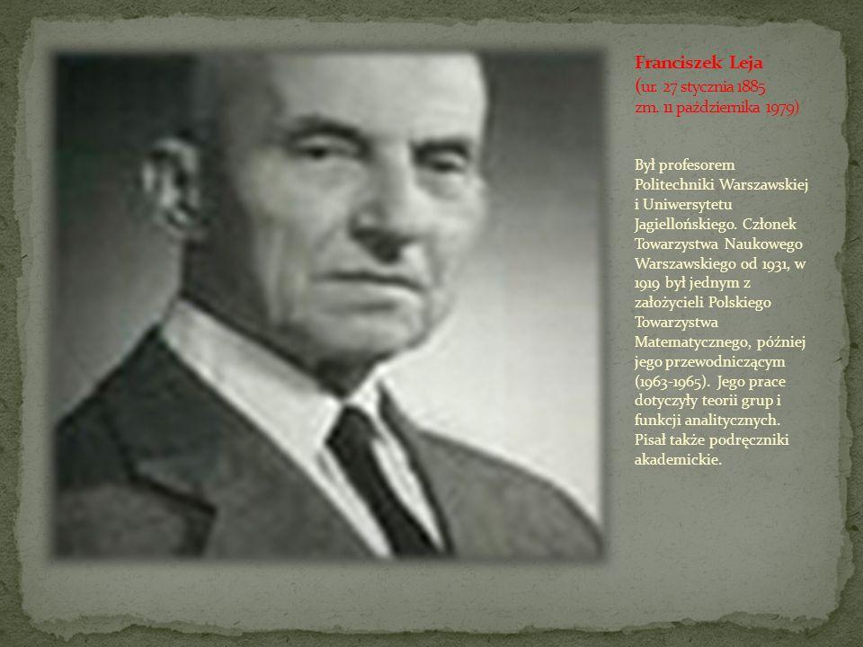 Był profesorem Politechniki Warszawskiej i Uniwersytetu Jagiellońskiego. Członek Towarzystwa Naukowego Warszawskiego od 1931, w 1919 był jednym z zało