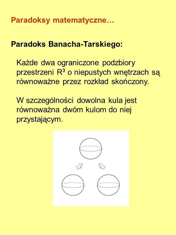 Paradoks (potoczny) - twierdzenie niezgodne z powszechnie przyjętym mniemaniem Sofizmat - rozumowanie często świadomie błędne, mające na celu oszukani