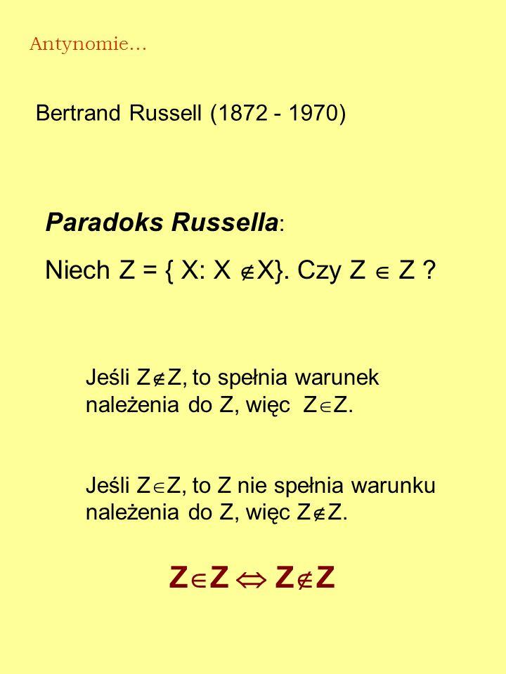 Demokryt (przełom V i IV w. p.n.e.) Czy pola przekrojów stożka są jednakowe czy różne?