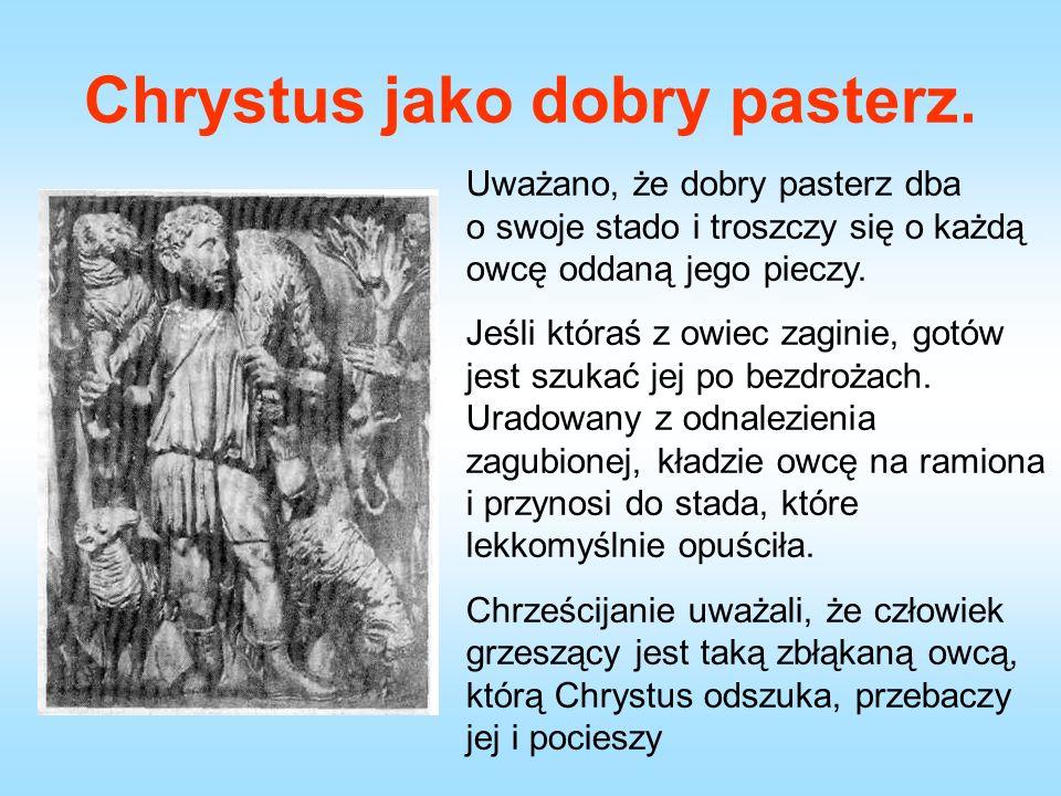 Chrystus jako dobry pasterz.